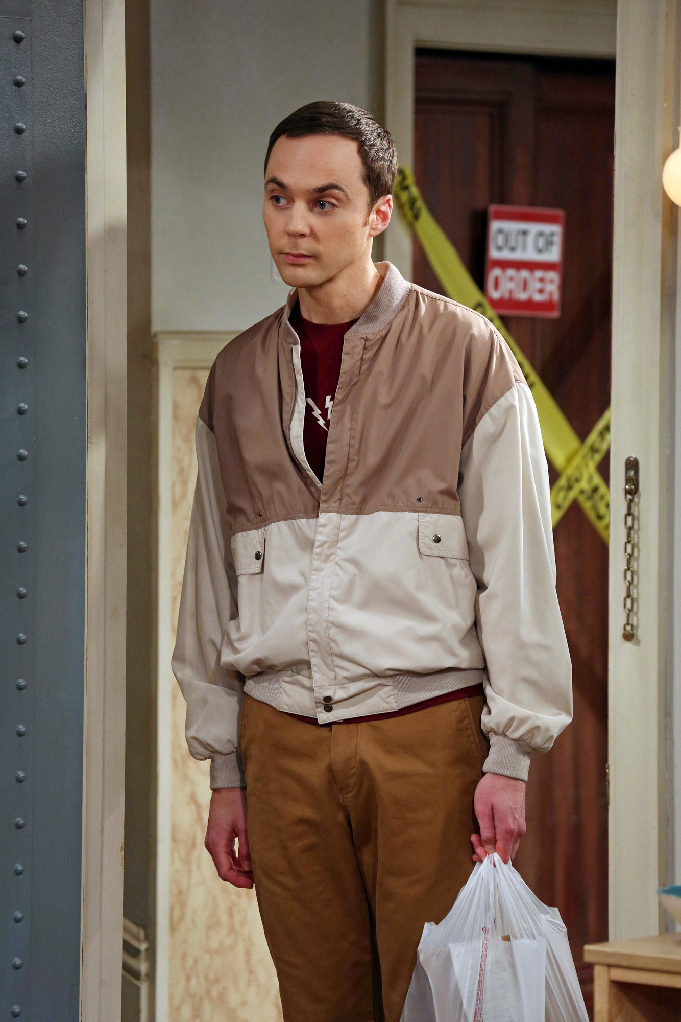 "Sheldon in ""The Deception Verification"" Episode 2 of Season 7"