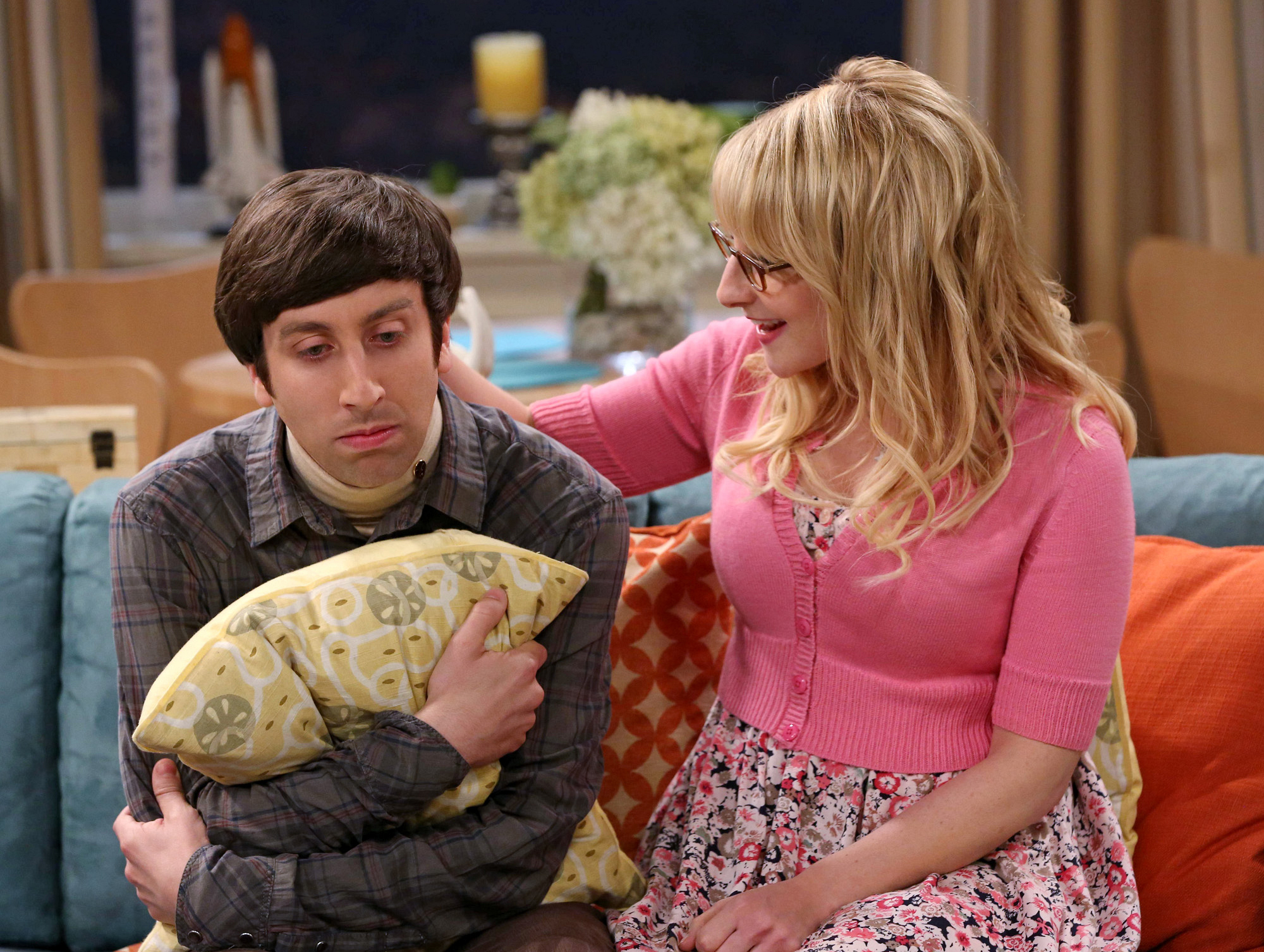 "The Wolowitz's in ""The Deception Verification"" Episode 2 of Season 7"
