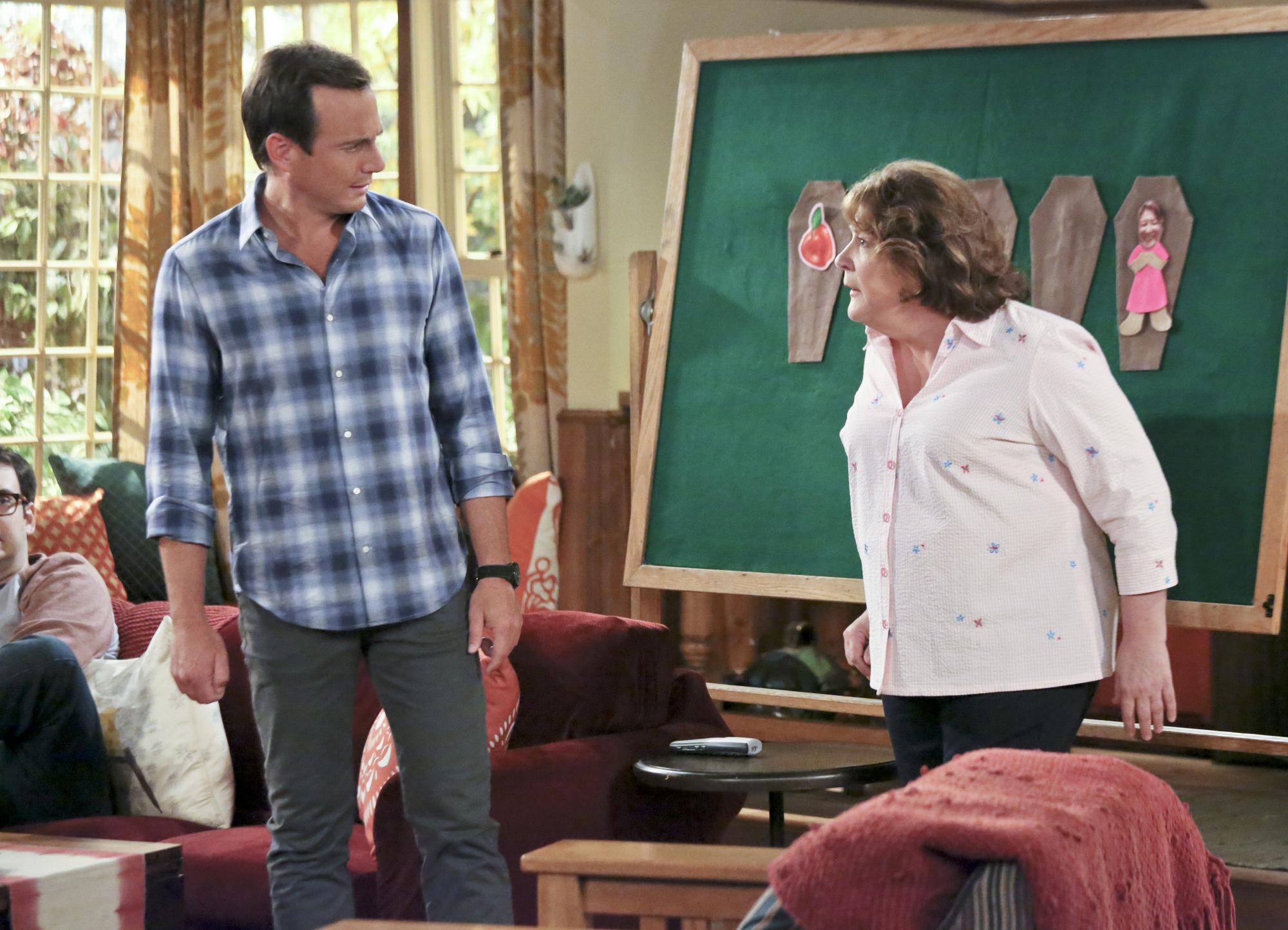 "Nathan & Carol in ""Plot Twists"" Episode 2 of Season 1"
