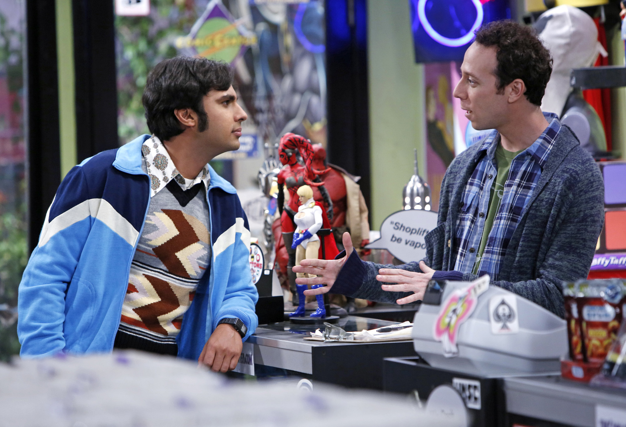 "Raj & Stuart in ""The Scavenger Vortex"" Episode 3 of Season 7"