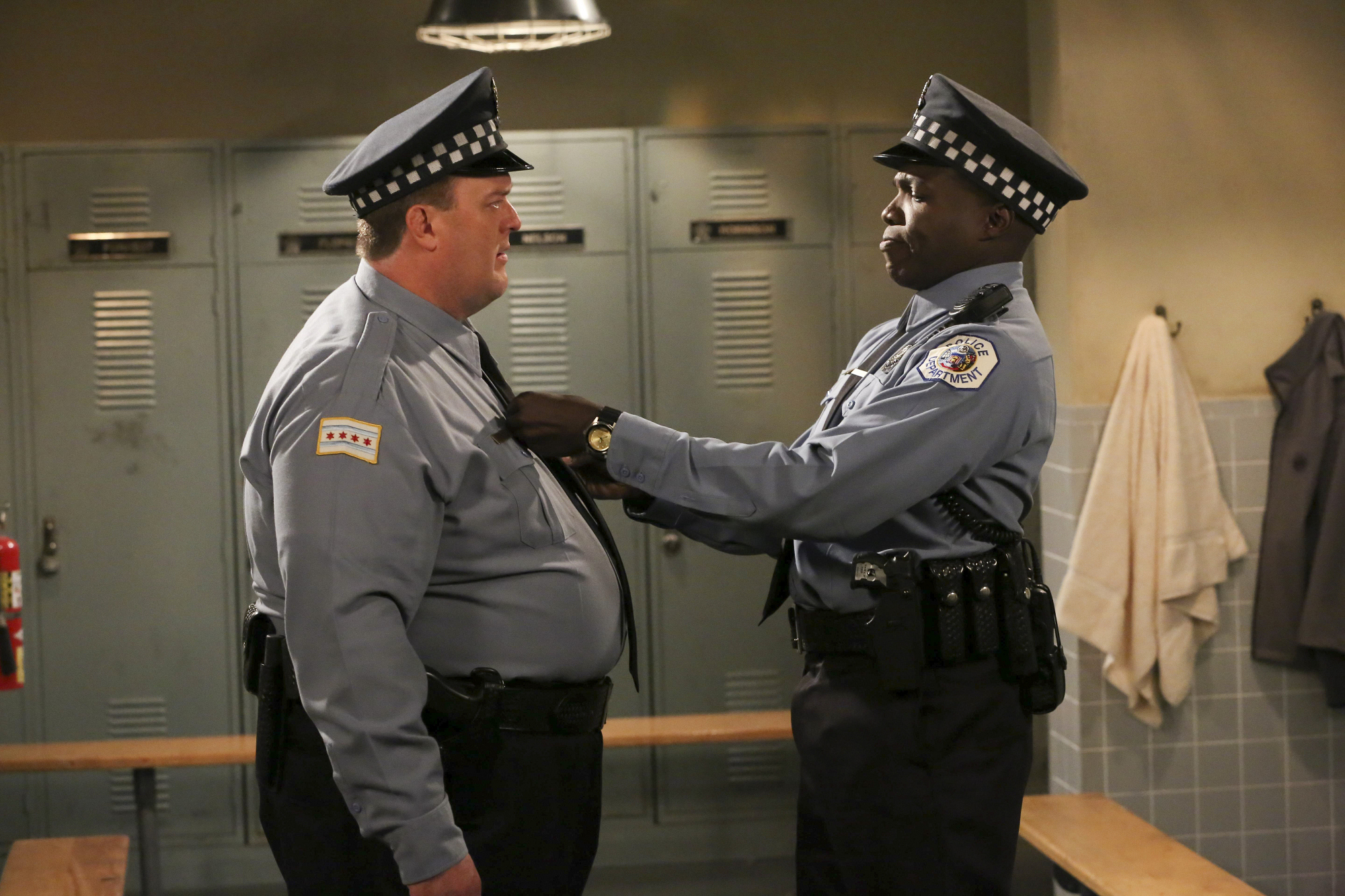 "Partners in ""The First and Last Ride-Along"" Episode 2 of Season 4"