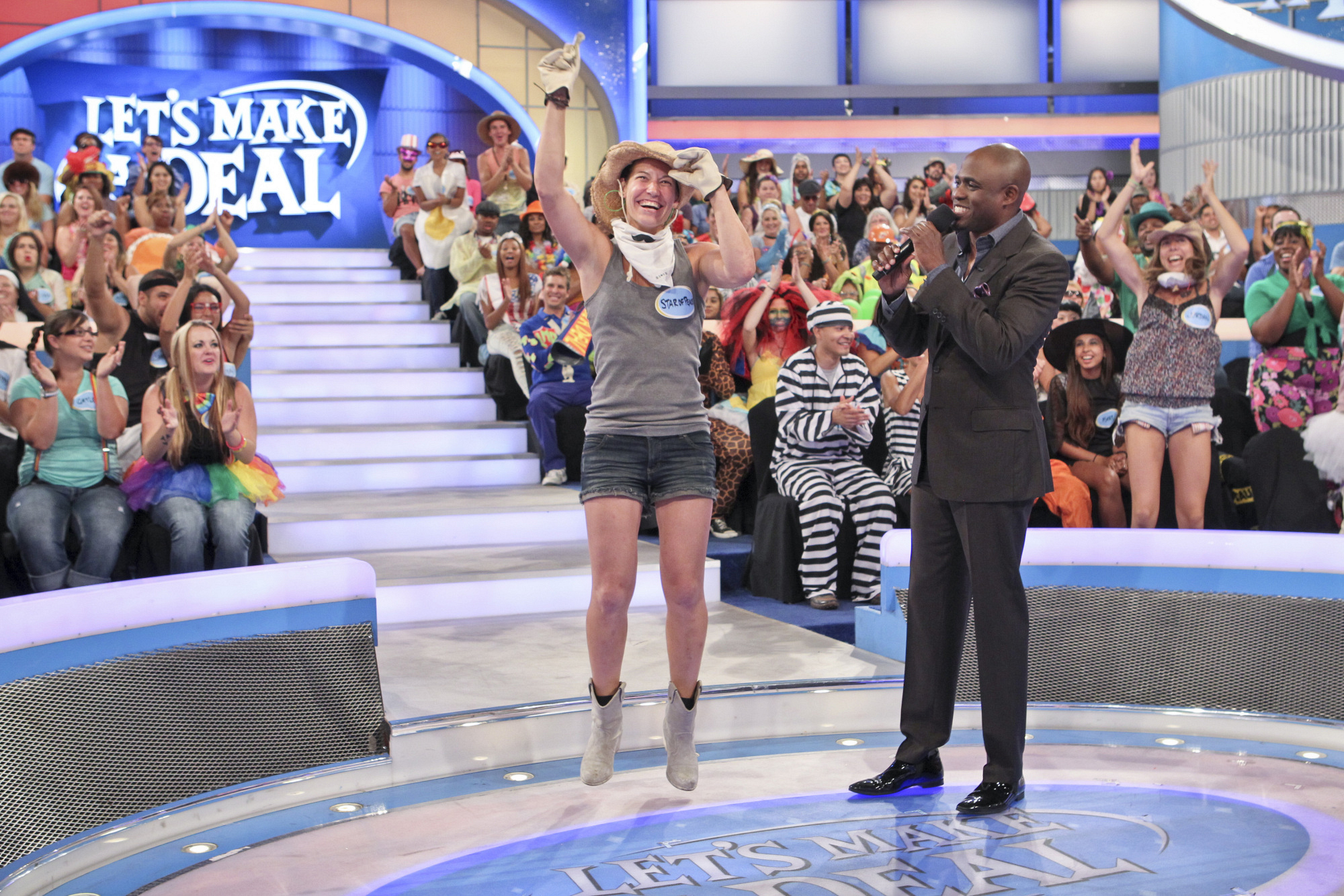Jumping For Joy on Let's Make a Deal