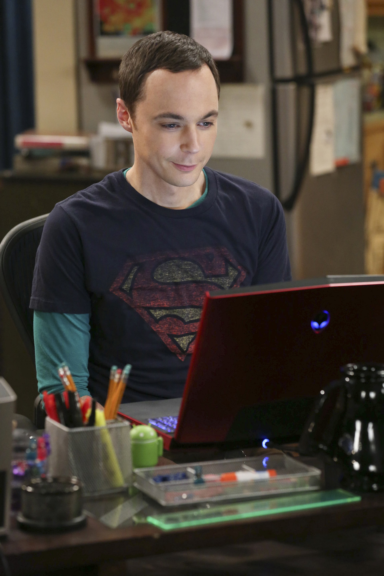 "Sheldon in ""The Raiders Minimization"" Episode 4 of Season 7"