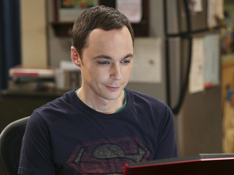 9. Sheldon Cooper - The Big Bang Theory