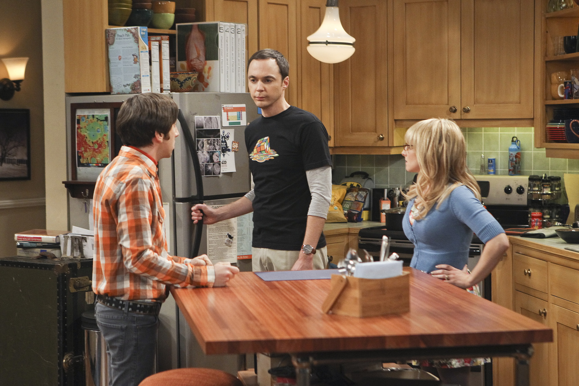 "Howard, Sheldon & Bernadette in ""The Workplace Proximity"" Episode 5 of Season 7"