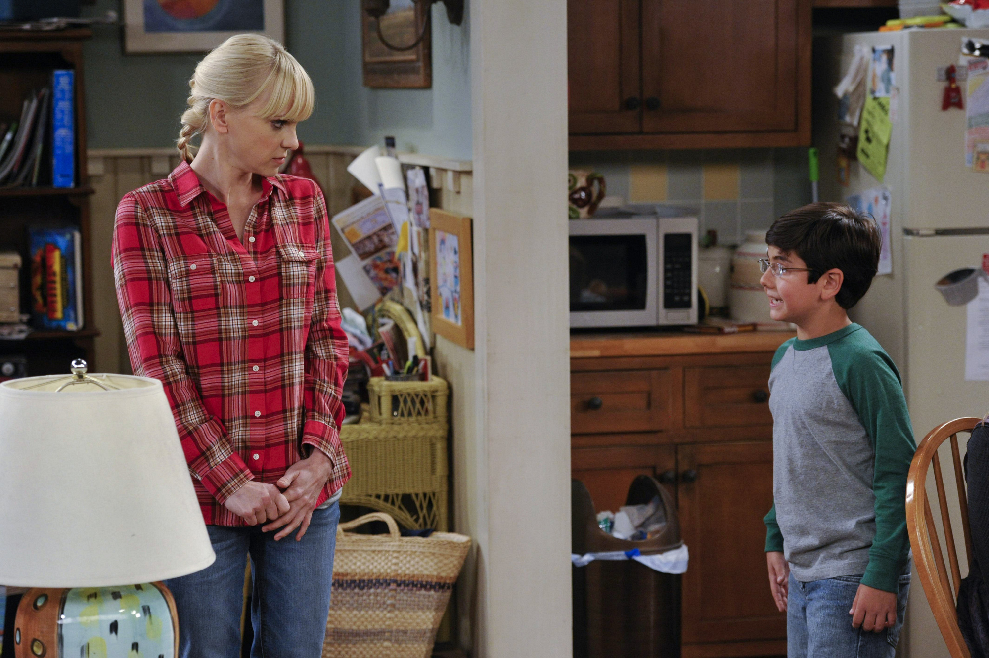 "Mother/son chat in ""Abstinence & Pudding"" Episode 6 of Season 1"
