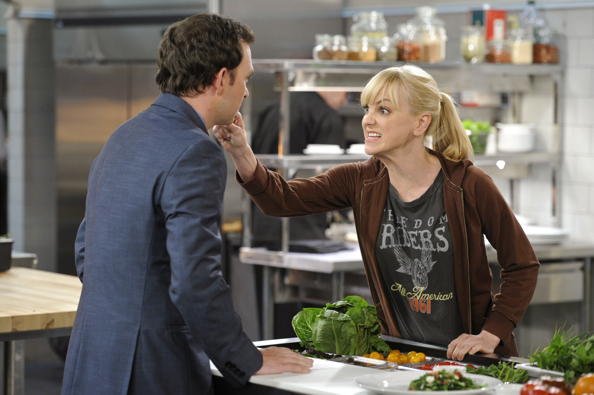 """Christy's confrontation in """"Abstinence & Pudding"""" Episode 6 of Season 1"""