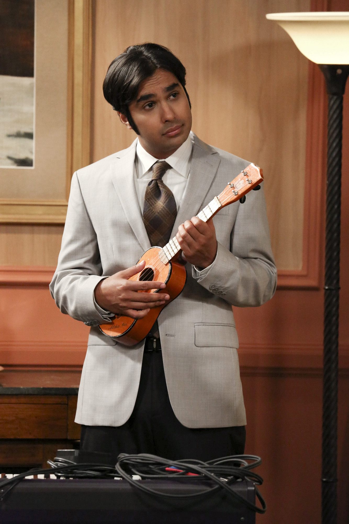 "Raj in ""The Romance Resonance"" Episode 6 of Season 7"