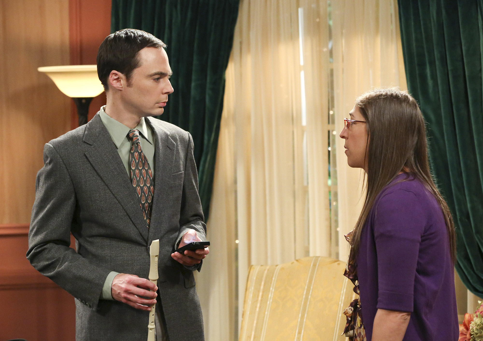 "Sheldon & Amy in ""The Romance Resonance"" Episode 6 of Season 7"