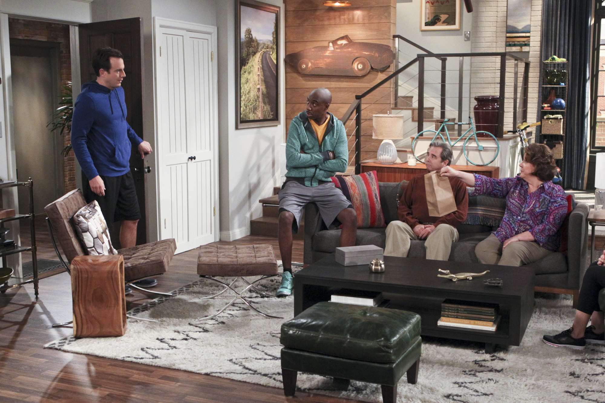 """Home sweet home in """"The Talk"""" Episode 7 of Season 1"""