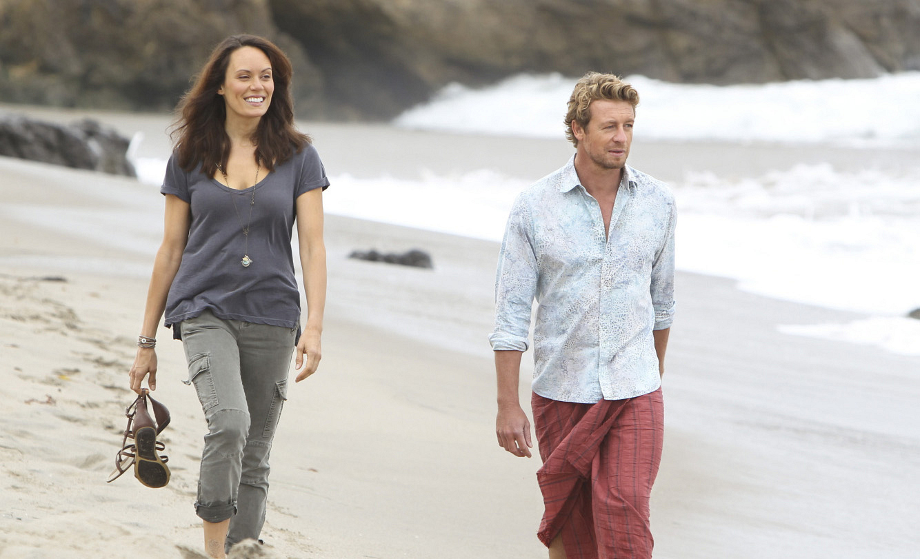 2. Kim Fischer and Patrick Jane - The Mentalist