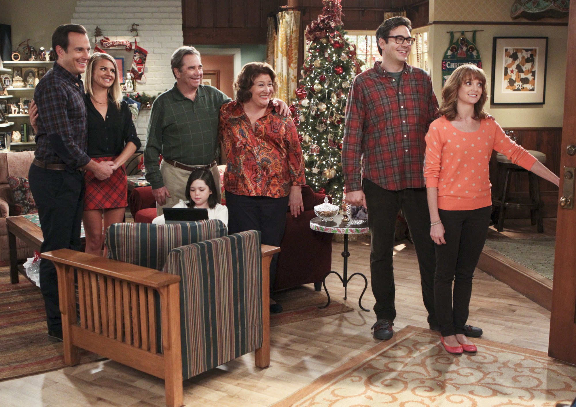 "Welcoming the family in ""Carol's Parents Are Coming to Town"" Epsiode 10 of Season 1"