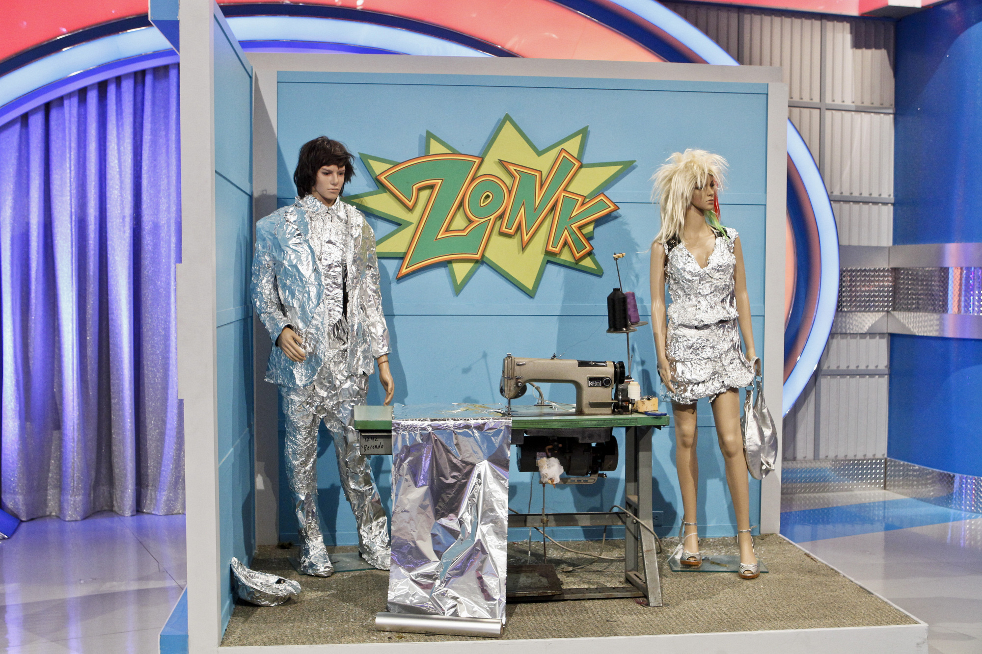 Tinfoil Suit & Dress
