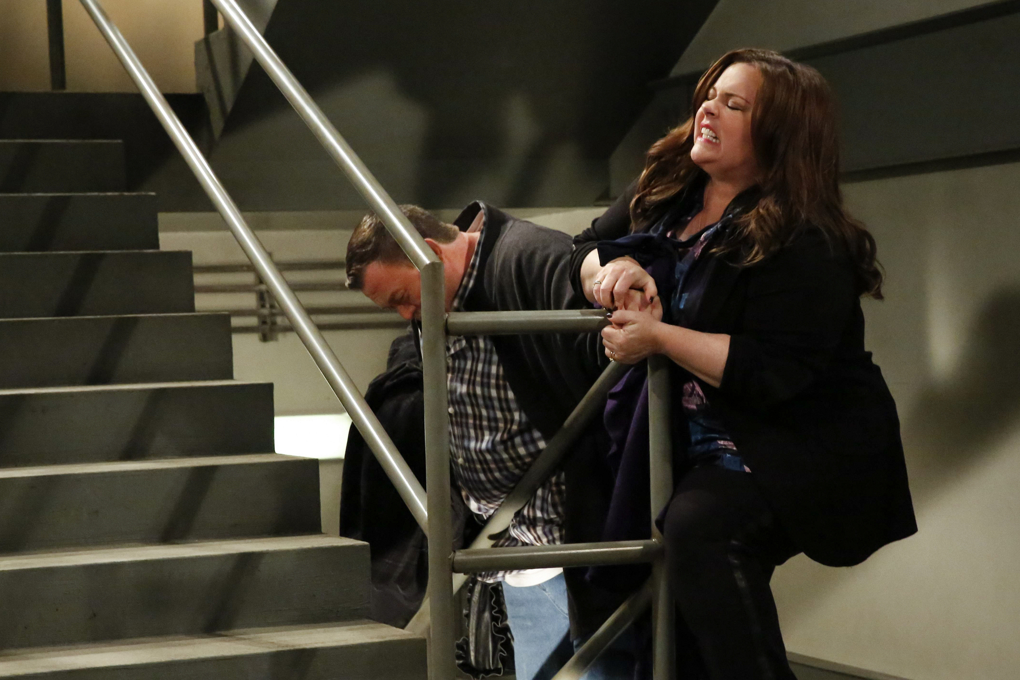 """Couples outing in """"Mike & Molly's Excellent Adventure"""" Episode 8, Season 4"""