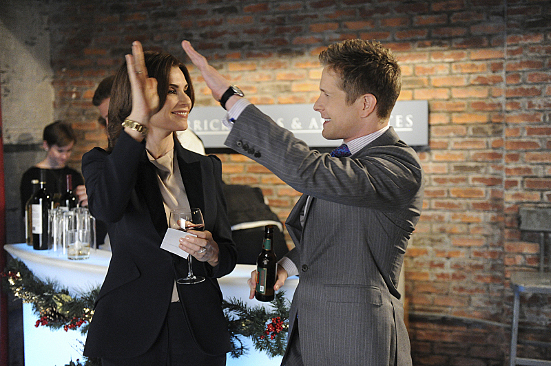 4. Alicia Florrick and Cary Agos - The Good Wife