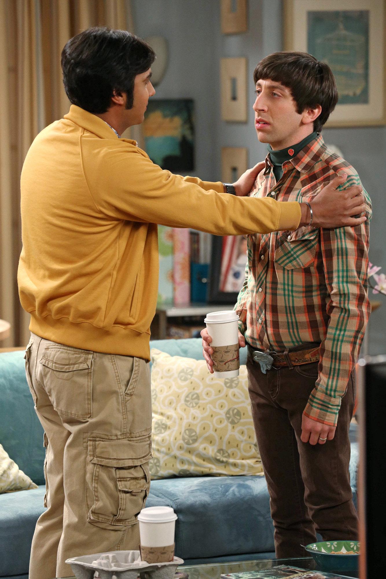 "Raj & Howard in ""The Discovery Dissipation"" Episode 10 of Season 7"