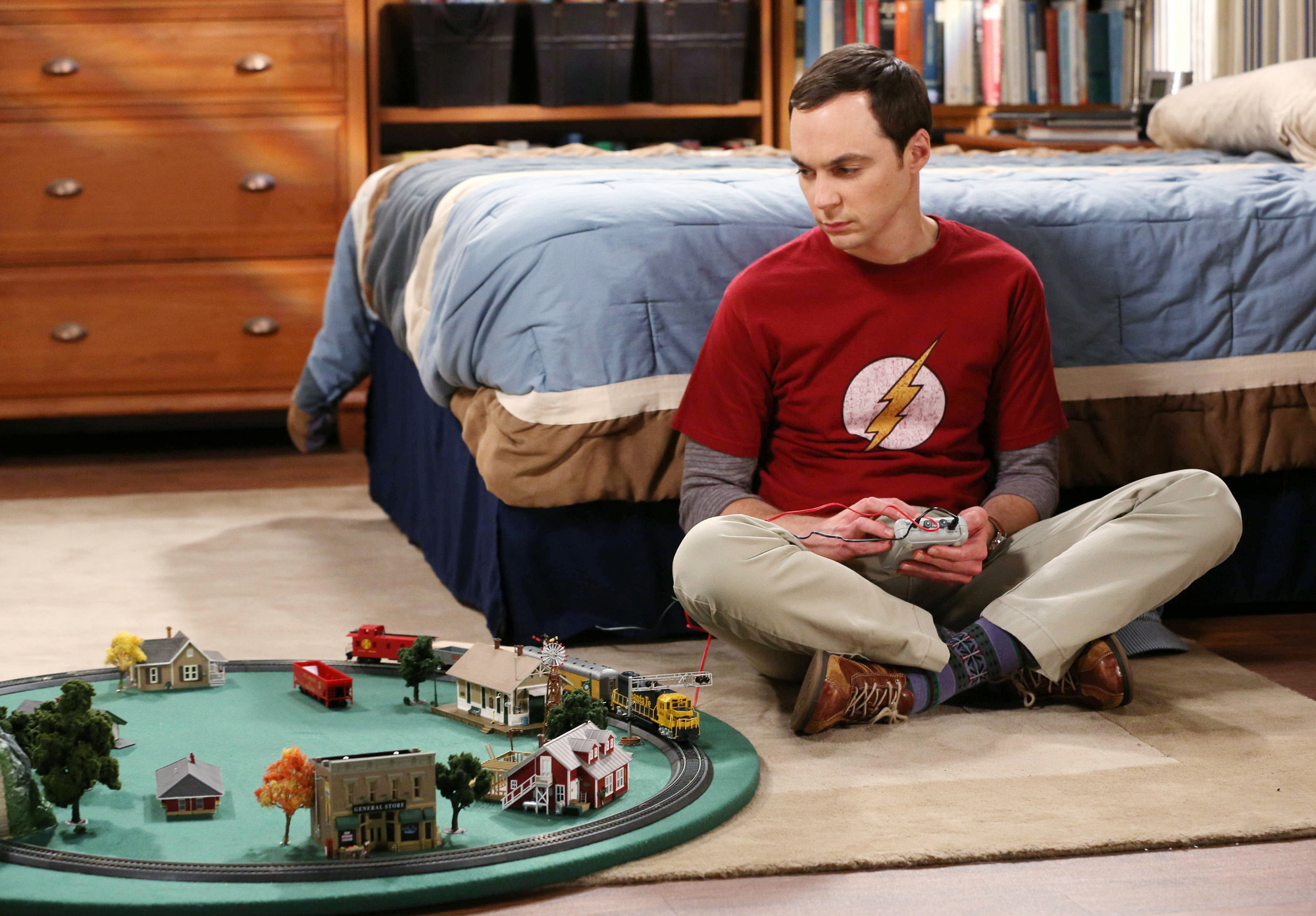"Sheldon in ""The Discovery Dissipation"" Episode 10 of Season 7"