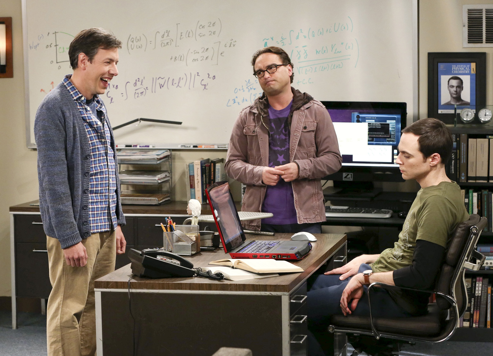 "Leonard and Sheldon in ""The Discovery Dissipation"" Episode 10 of Season 7"