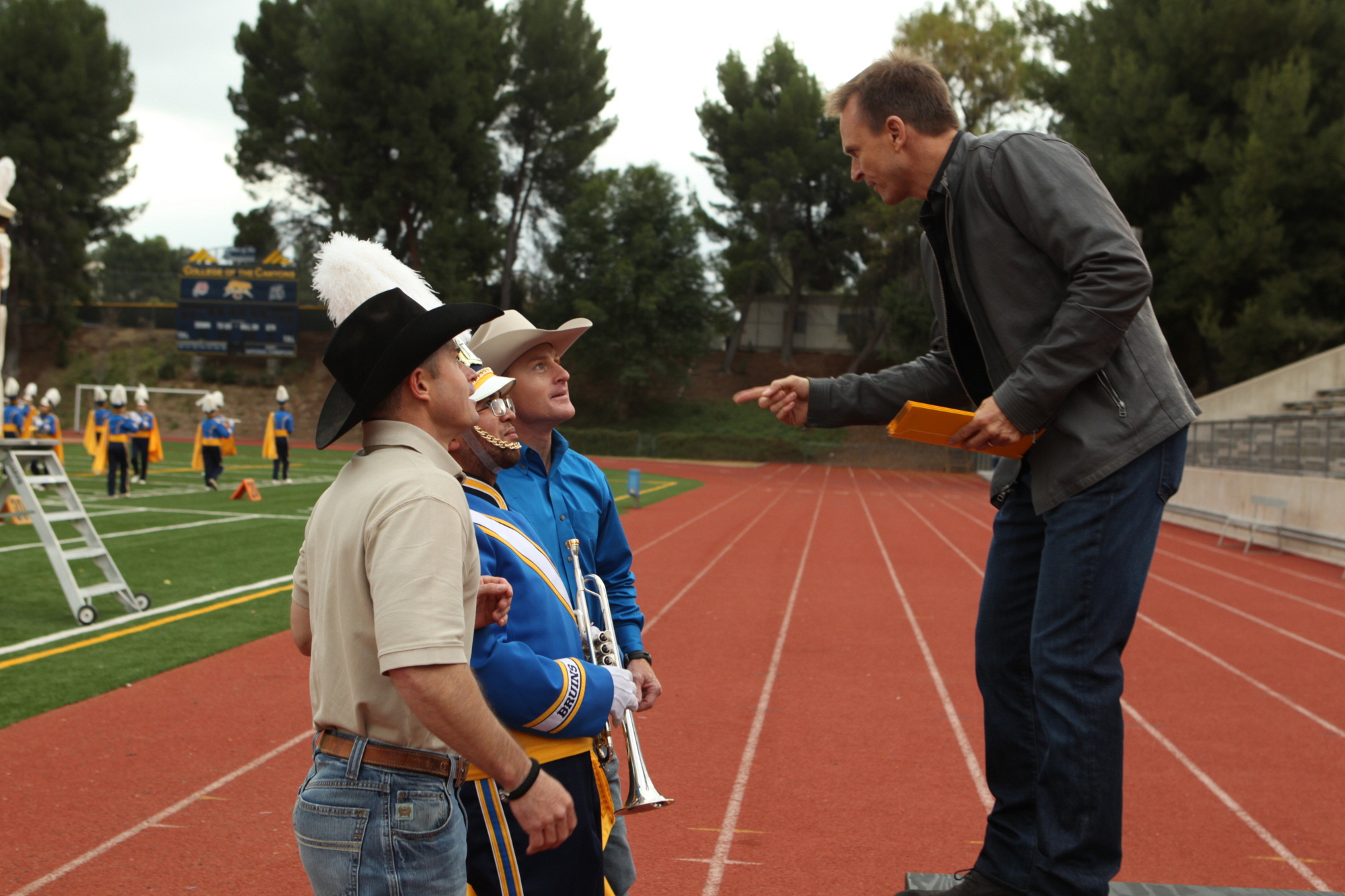 Jet and Cord with Phil Keoghan on the Season 24 Premiere