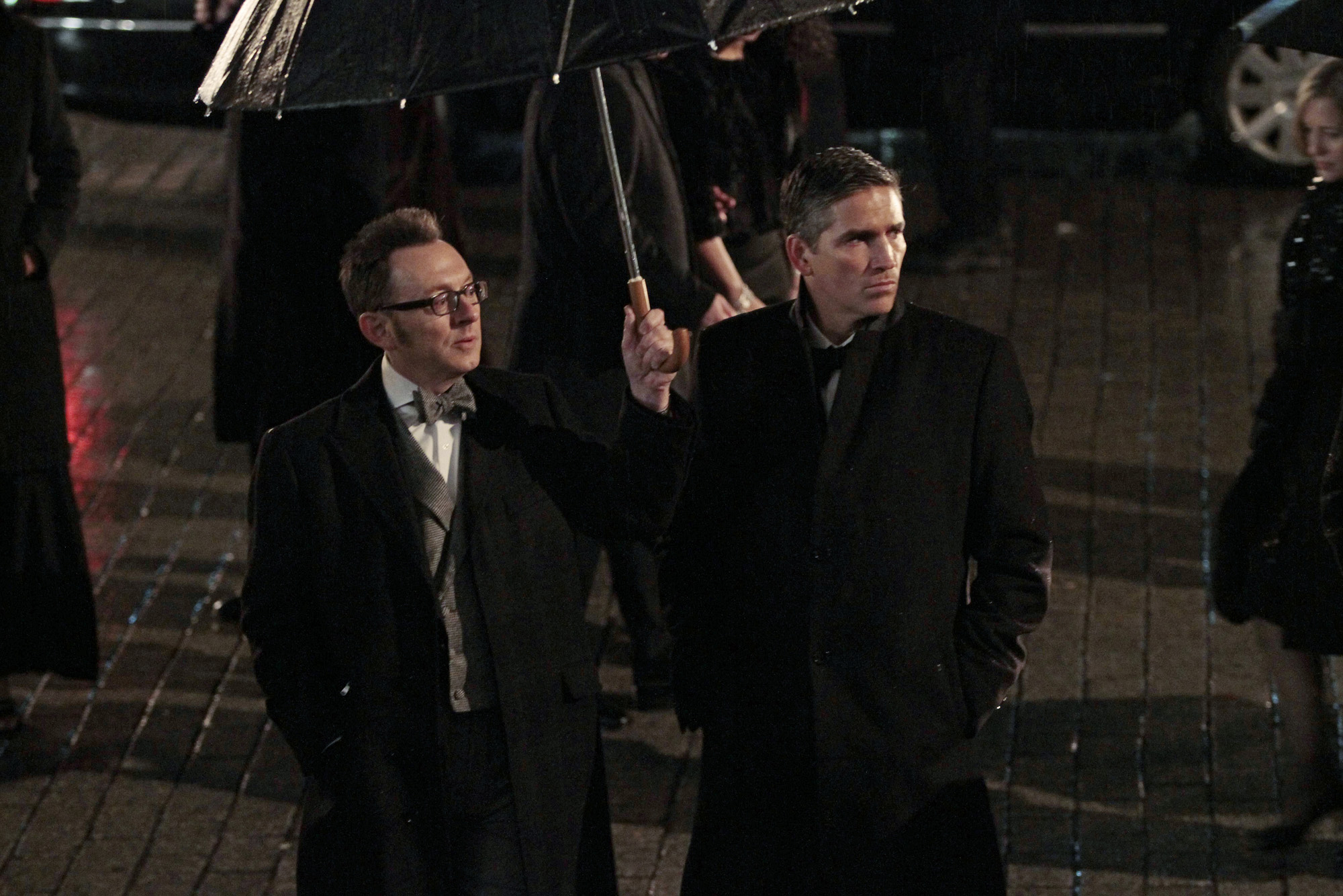 4. Reese and Finch - Person of Interest