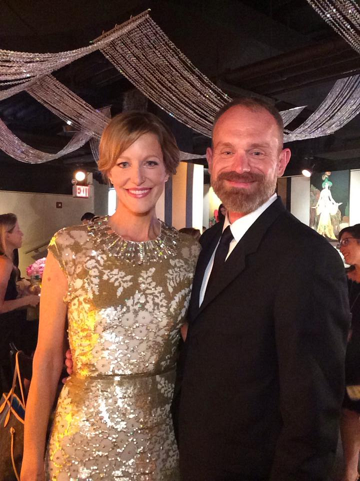 6. Anna Gunn - Backstage at the Tony Awards