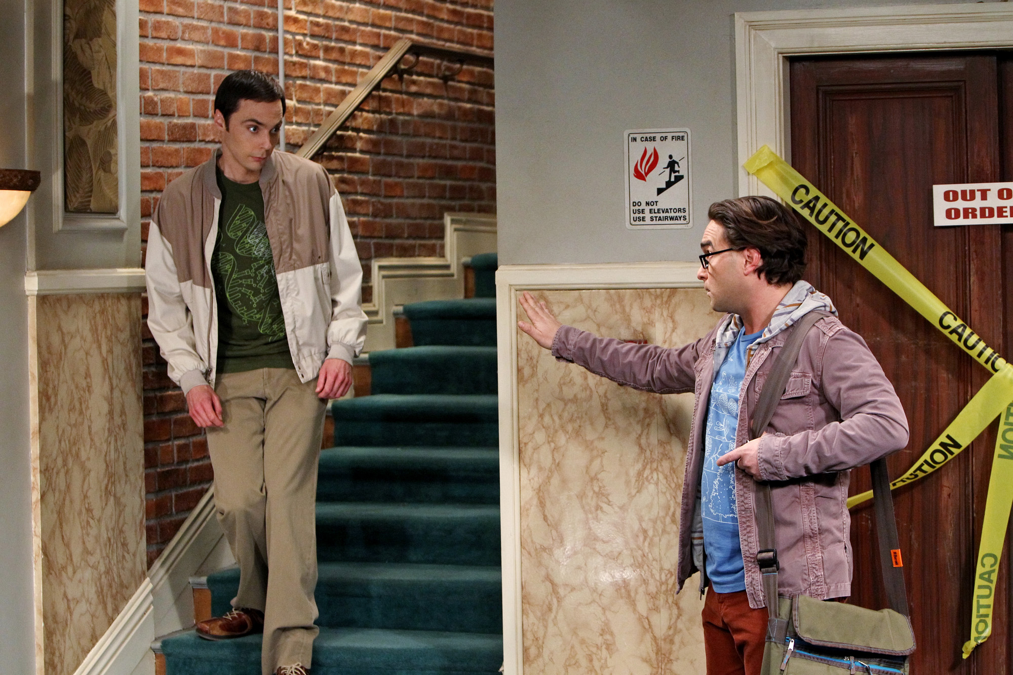 "Sheldon & Leonard in ""The Occupation Recalibration"" Episode 13 of Season 7"