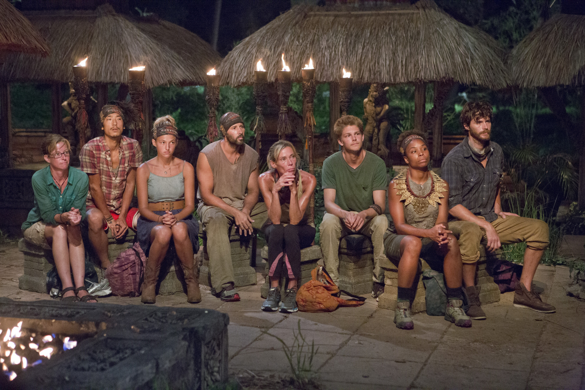 Tribal Council in Season 28 Episode 9
