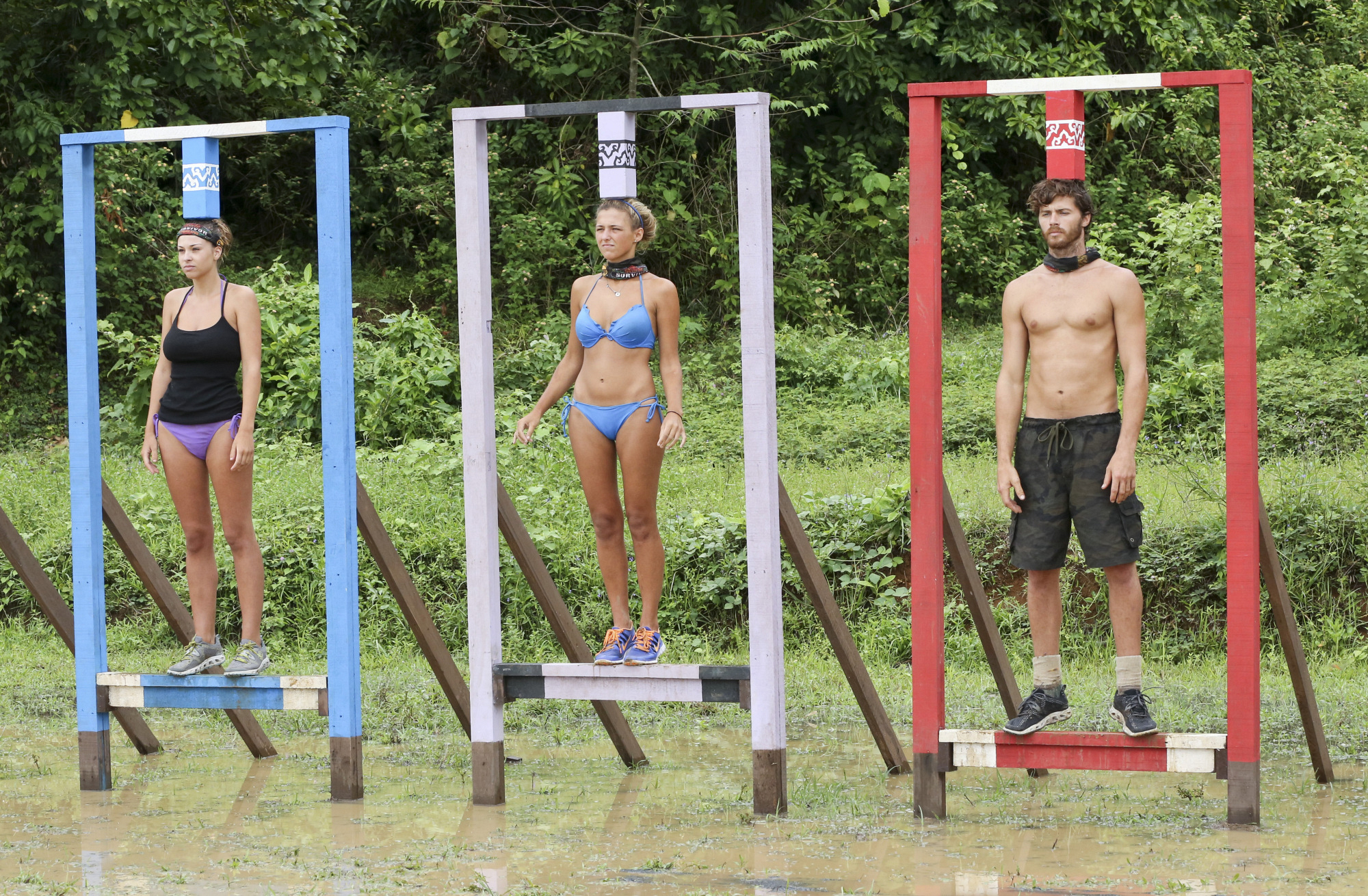 Morgan, Jefra and Jeremiah in Season 28 Episode 7