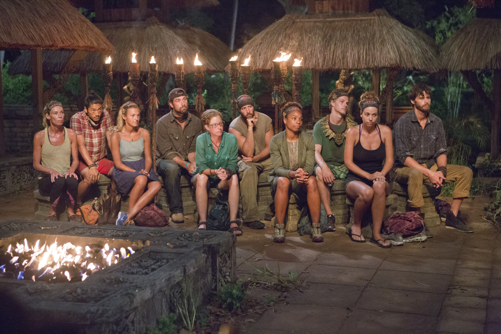Tribal Council in Season 28 Episode 7