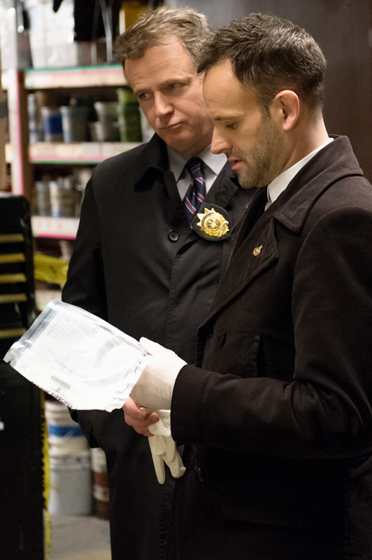 """Sherlock & Captain Gregson: Sherlock does whatever he wants and Captain Gregson is very """"by the book."""""""