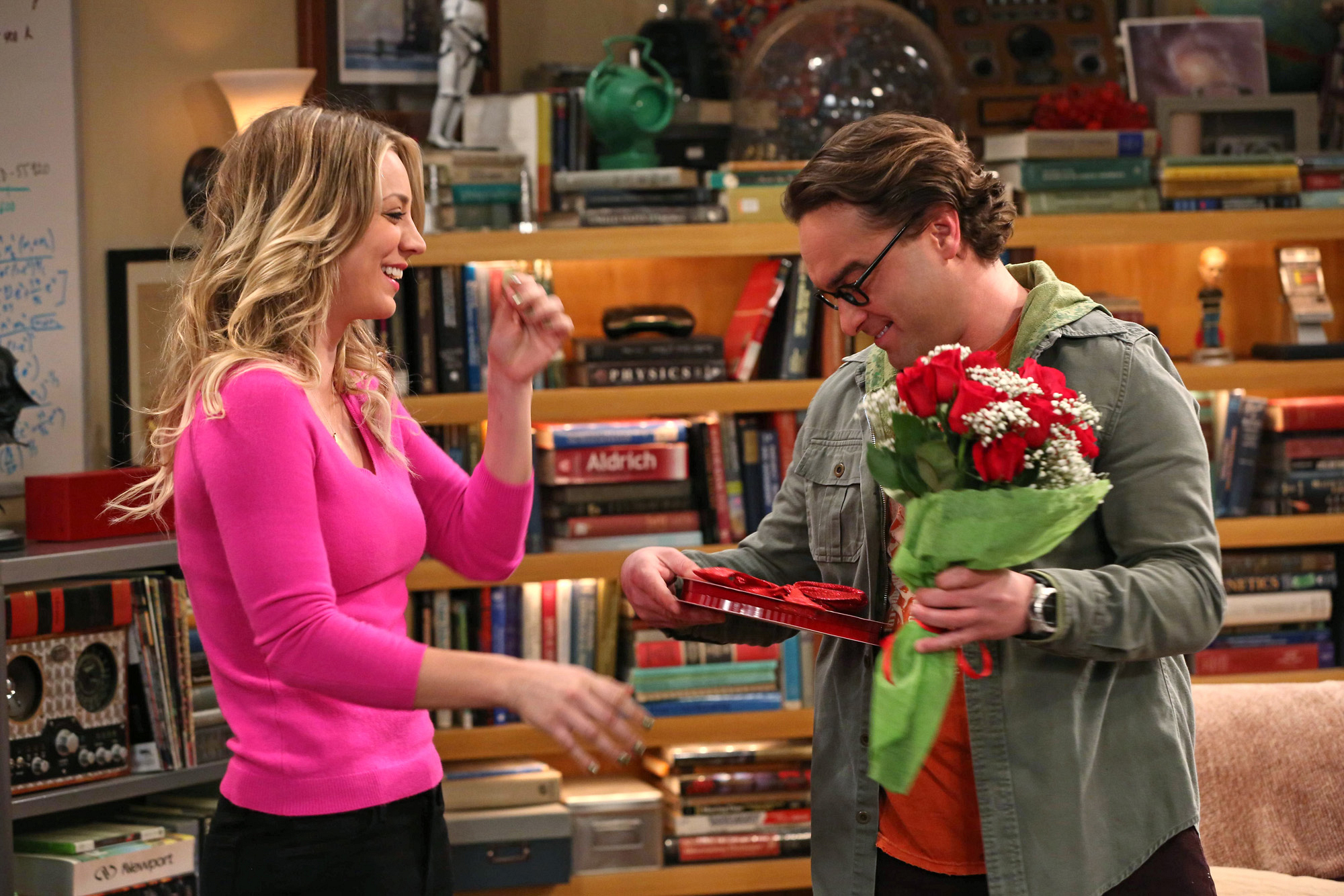 9. Penny and Leonard - The Big Bang Theory