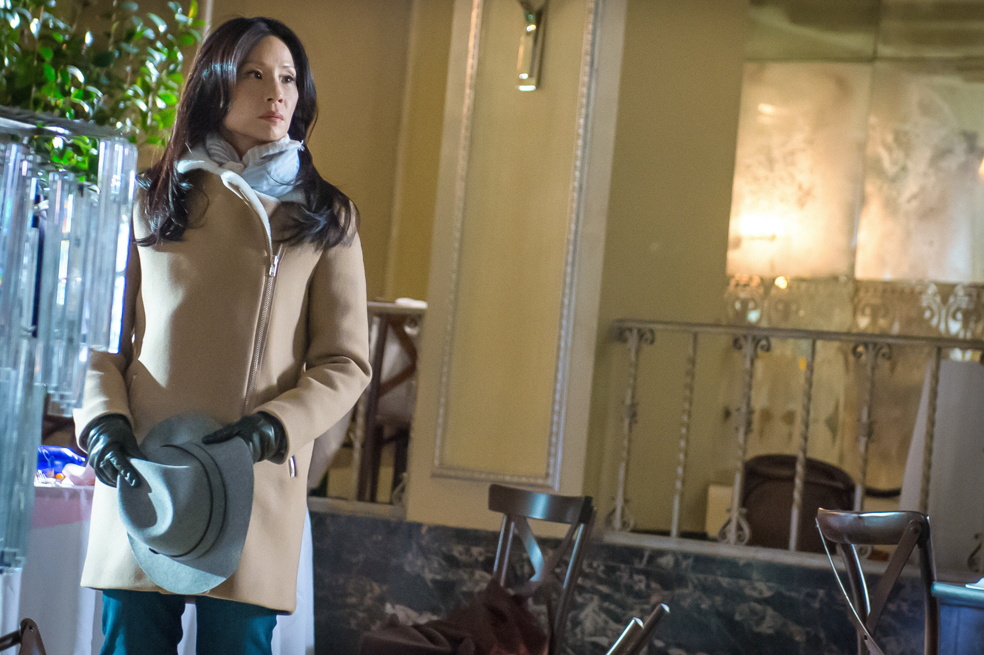 """Lucy Liu in """"The One Percent Solution"""" S2 E16"""