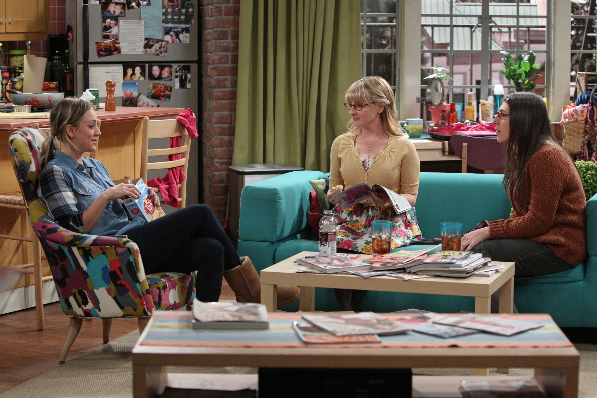 "Girls night in ""The Convention Conundrum"" Episode 14 of Season 7"