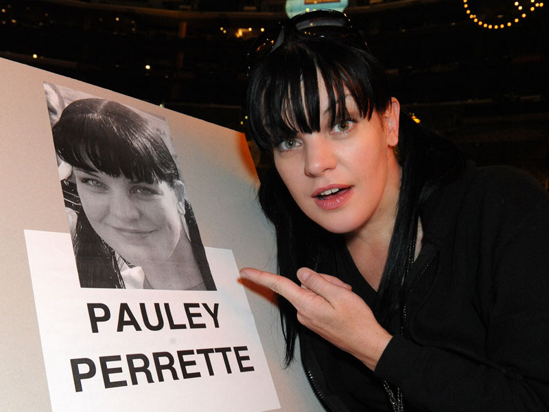 2014 GRAMMY Rehearsals - Pauley Perrette