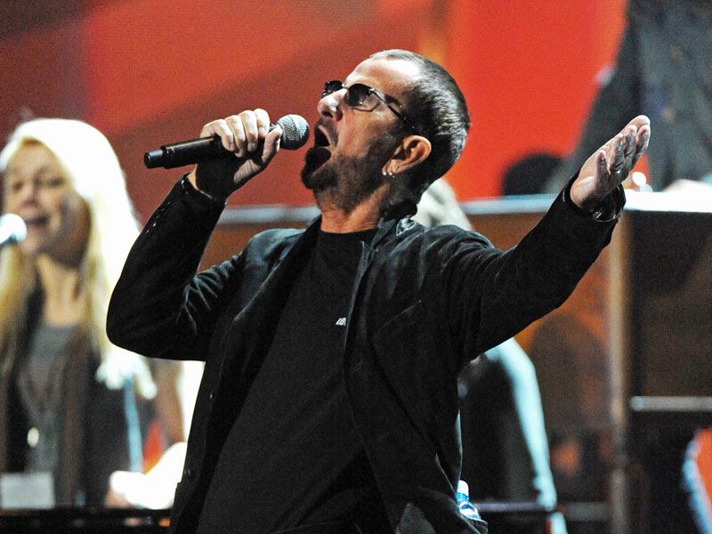 2014 GRAMMY Rehearsal Photos - Ringo Starr