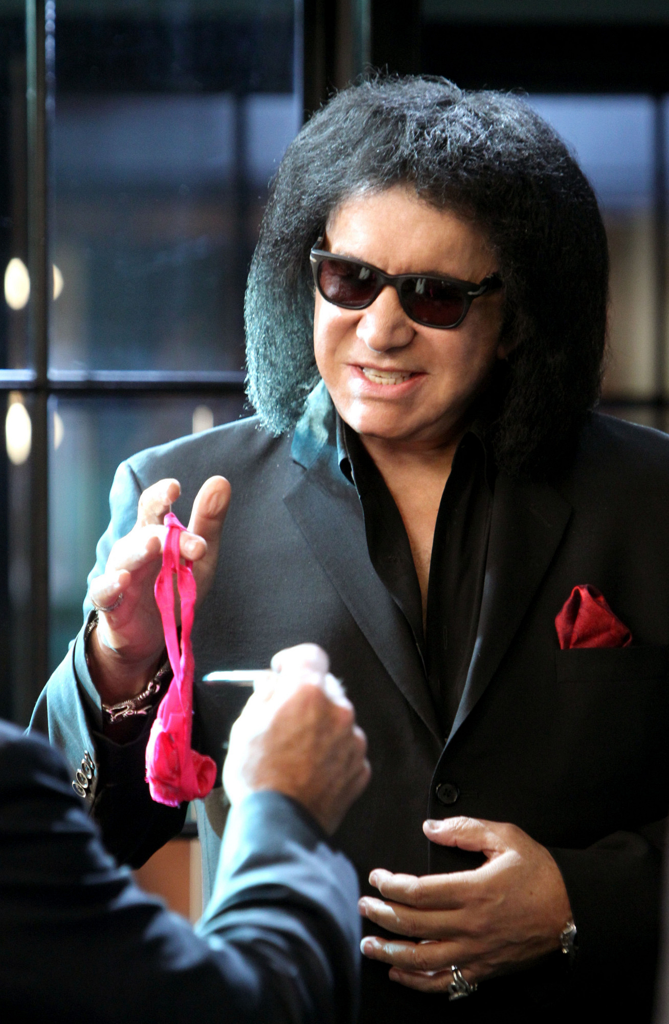 Gene Simmons on CSI Crime Scene Investigation