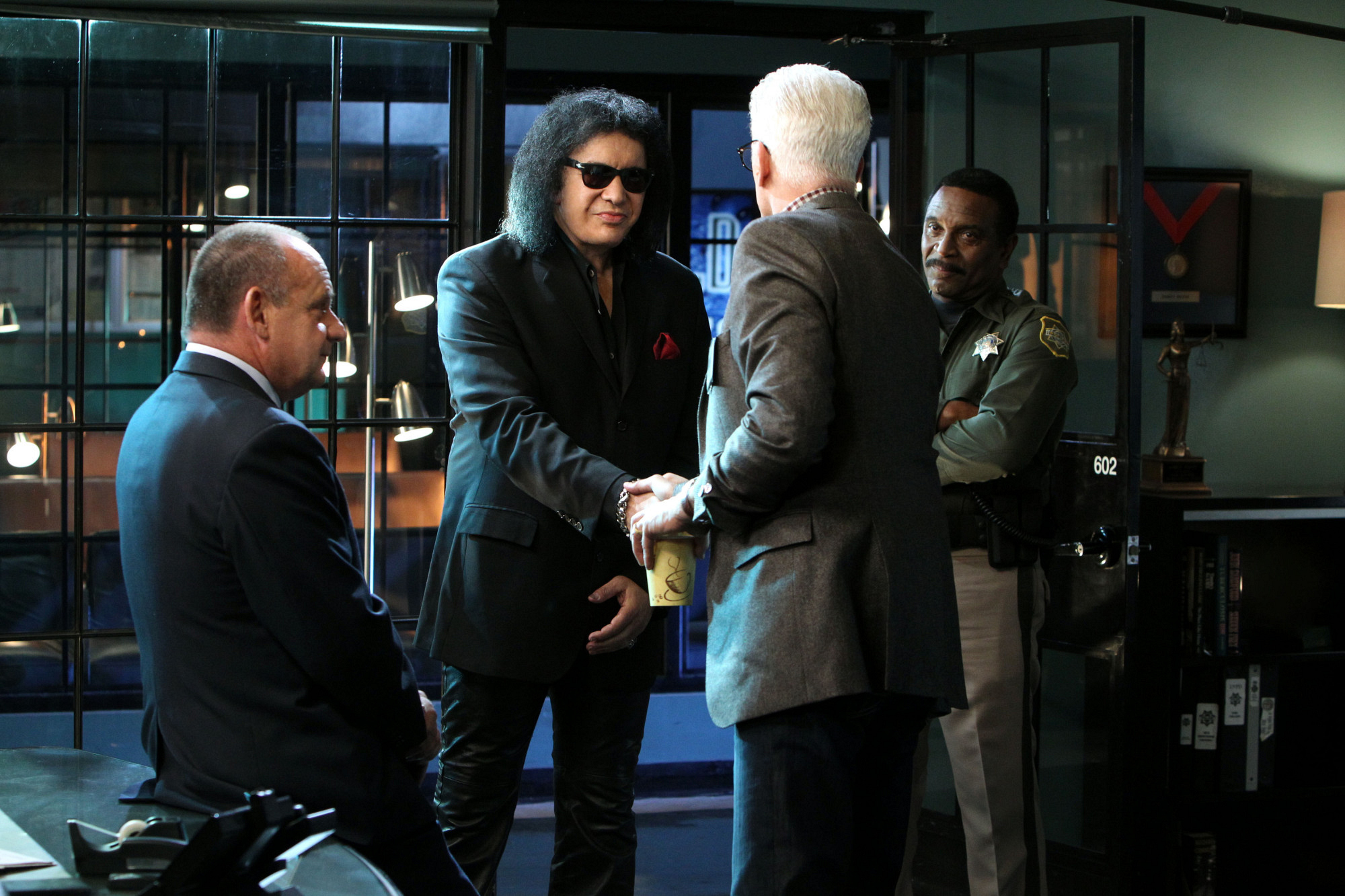 "Meet Gene Simmons in ""Long Road Home"" S14 E17"