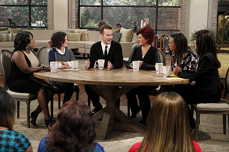 James Van Der Beek visits THE TALK