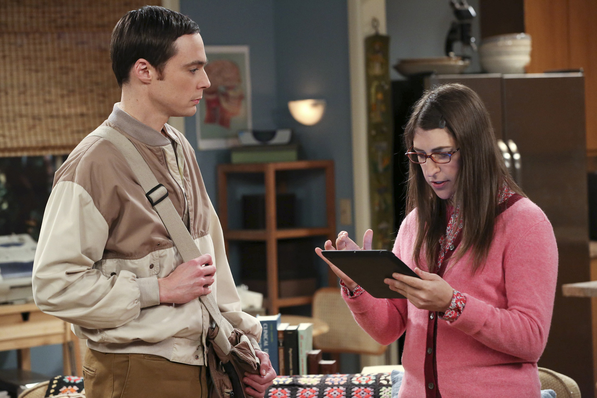 "Shamy in ""The Table Polarization"" S7 E16"