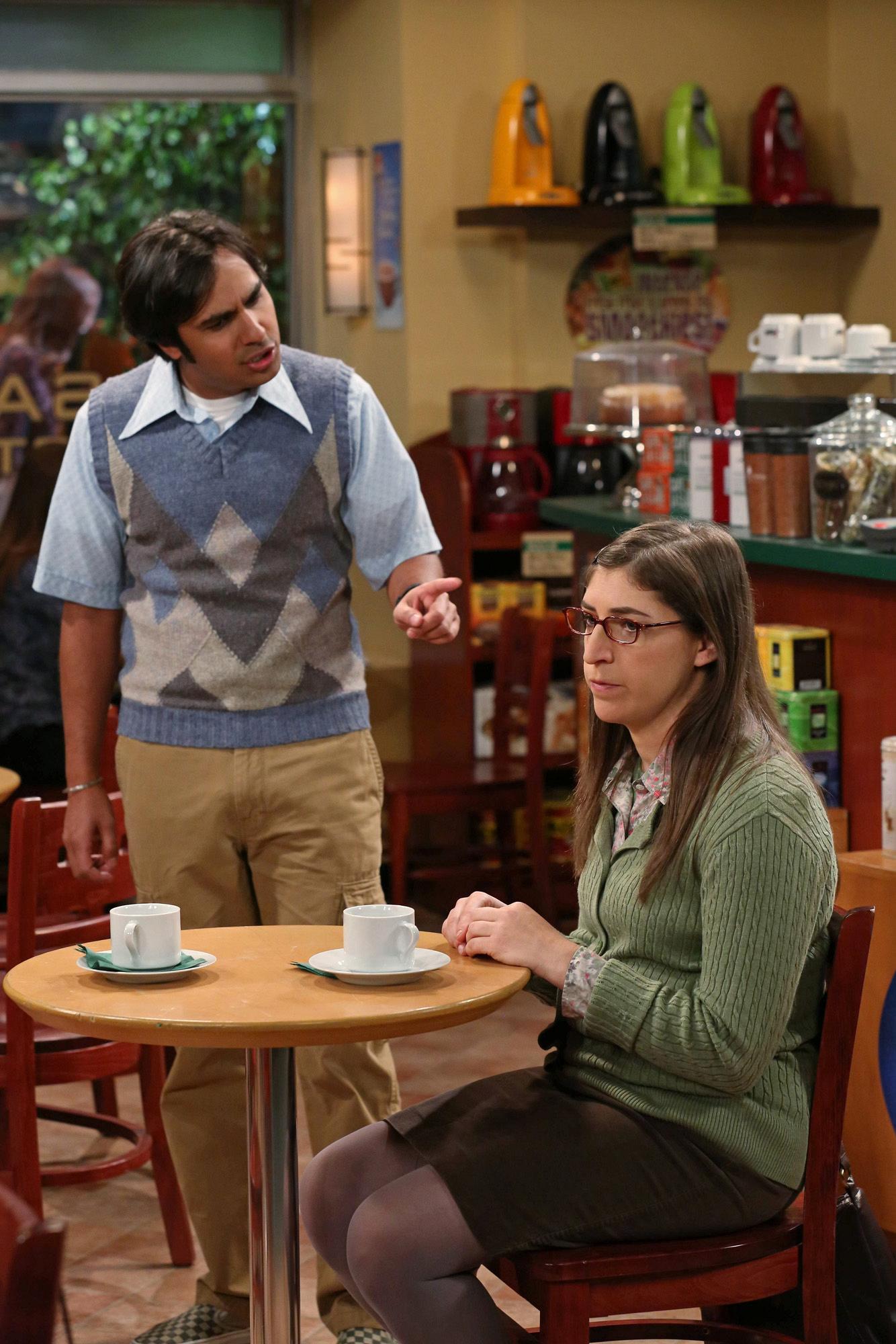 """Raj & Am in """"The Friendship Turbulence"""" S7 E17"""