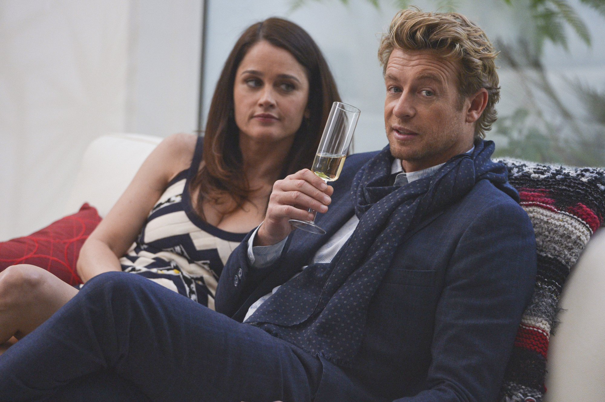 3. Lisbon and Jane - The Mentalist