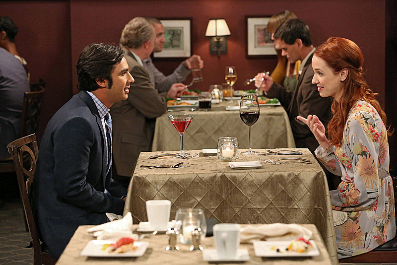 "Dinner date in ""The Indecision Amalgamation"" S7 E19"