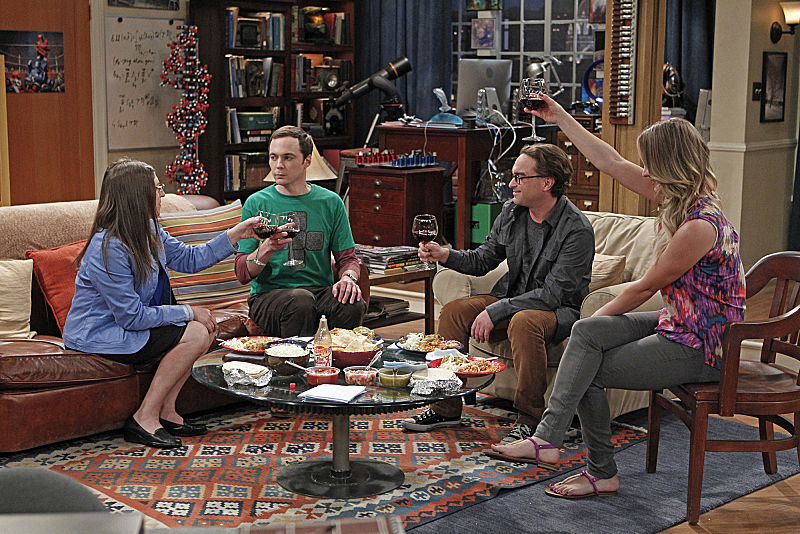 """A couple of couples in """"The Relationship Diremption"""" S7 E20"""