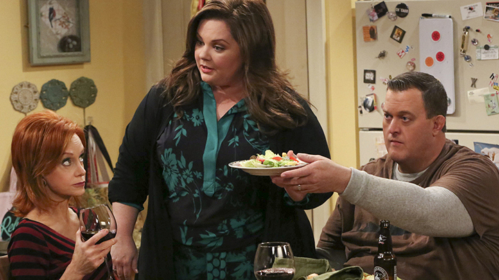 6. He gets to work alongside Melissa McCarthy.