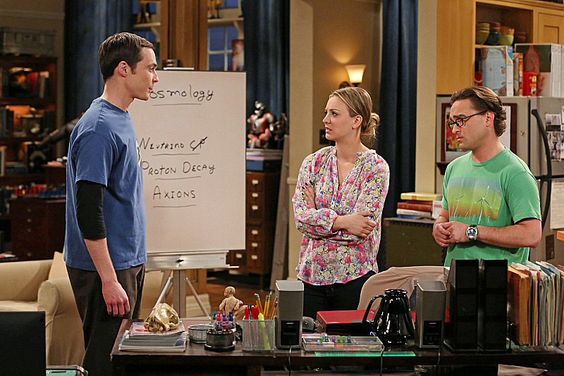 "Sheldon, Penny & Leonard in ""The Anything Can Happen Recurrence"" S7 E21"