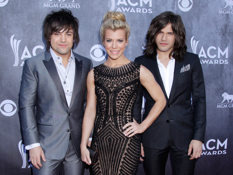 The Band Perry on the Red Carpet - 49th ACM Awards