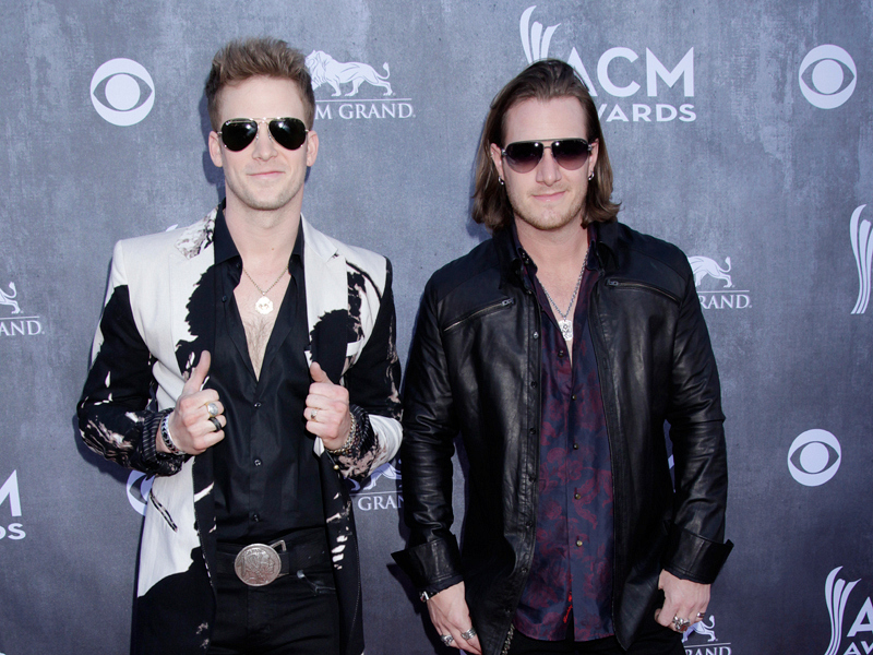 Florida Georgia Line on the Red Carpet - 49th ACM Awards