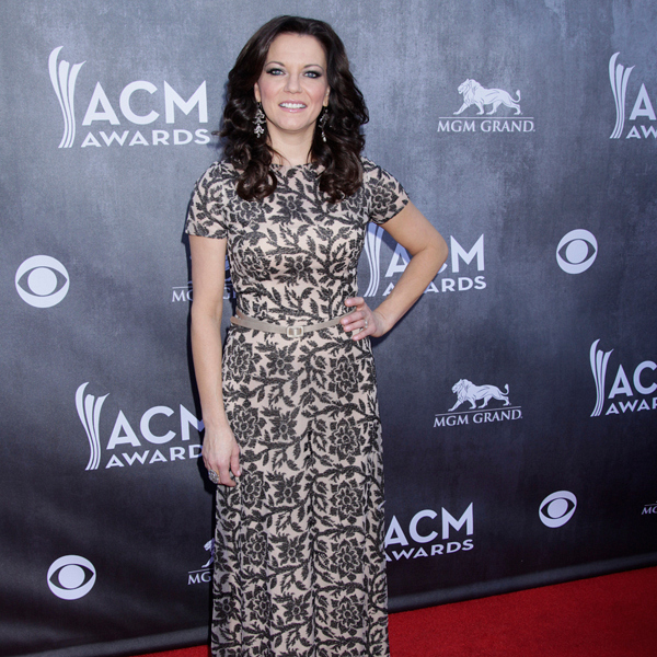 Martina McBride on the Red Carpet - 49th ACM Awards