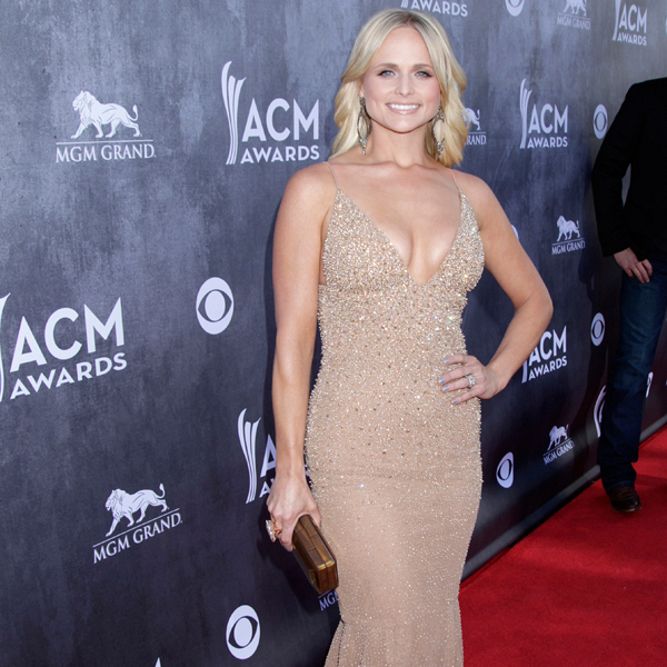 Miranda Lambert on the Red Carpet - 49th ACM Awards