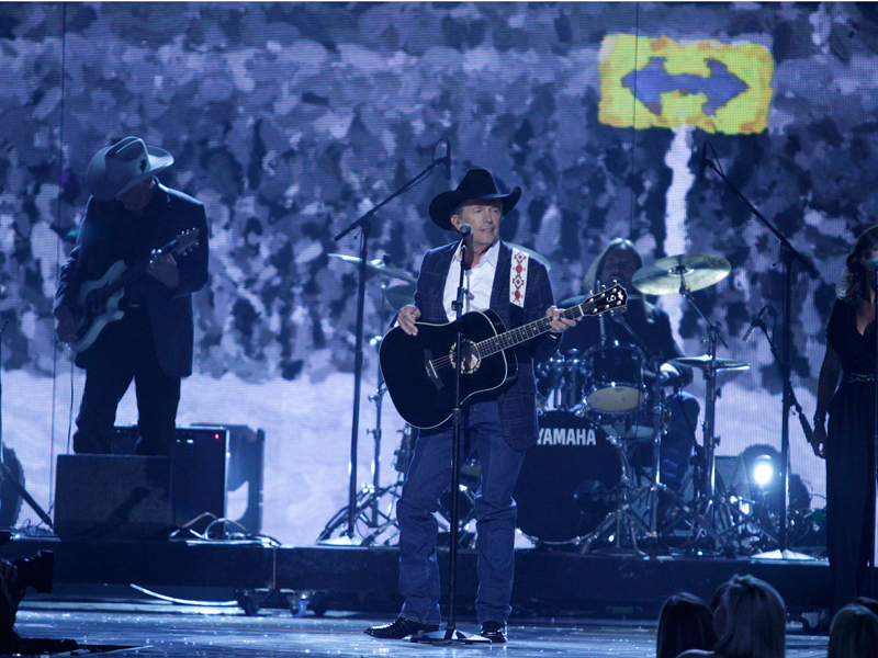 George Strait Performs - 49th ACM Awards